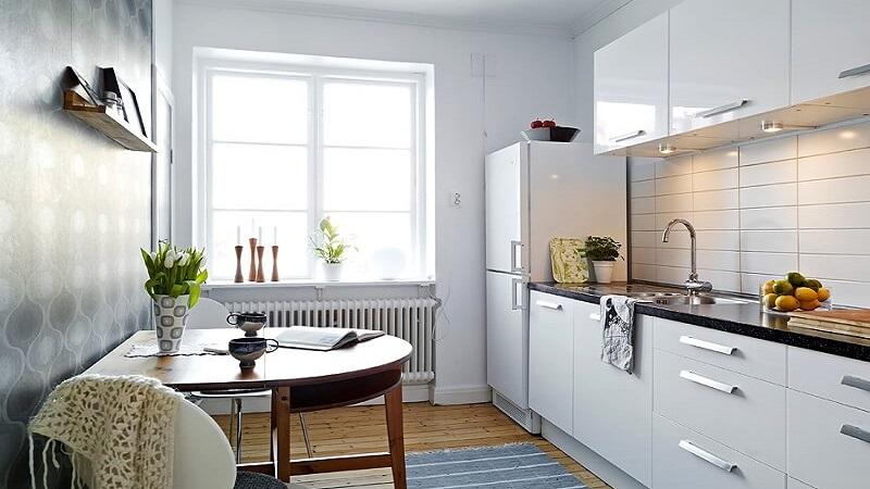 Bucatarie mica de apartament