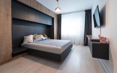 Mobila pentru un apartament cu 2 camere. Proiect Apartament P